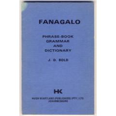 fanagalo alphabet